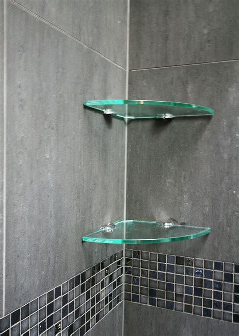 glass shower shelves bathroom accessories shower solutions