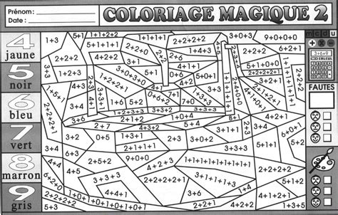 image coloriage magique cp lecture syllabes coloriage anti