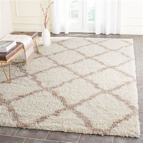ivory shag rug safavieh dallas shag ivory beige 8 ft x 10 ft area rug