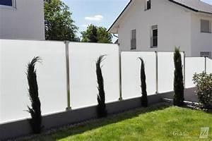 Grüner Sichtschutz Garten : glaszaun f r wind und sichtschutz glasprofi24 ~ Markanthonyermac.com Haus und Dekorationen