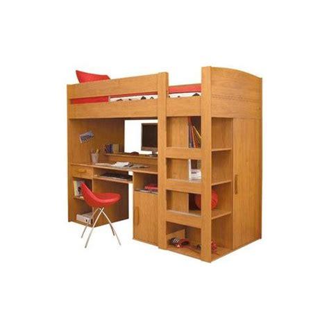 combiné lit bureau conforama lit mezzanine combiné montana 90x200cm achat et vente