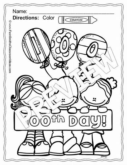 Coloring Pages Kindergarten Printable 100th Xbox Controller
