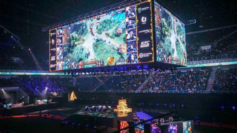 dota  tournament showed   future  esports cnet