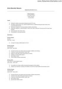 army resume army medic resume exles bestsellerbookdb