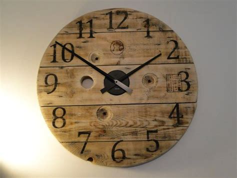 Rustic Reclaimed Wooden Wall Clock