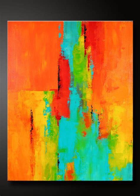 Moderne Acrylbilder Auf Keilrahmen by 22 X 28 Abstract Acrylic Painting On Canvas