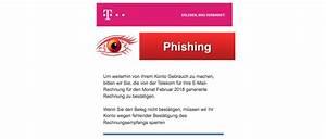 Telekom Rechnung Drucken : telekom phishing ihre telekom festnetz rechnung kann spam ~ Themetempest.com Abrechnung