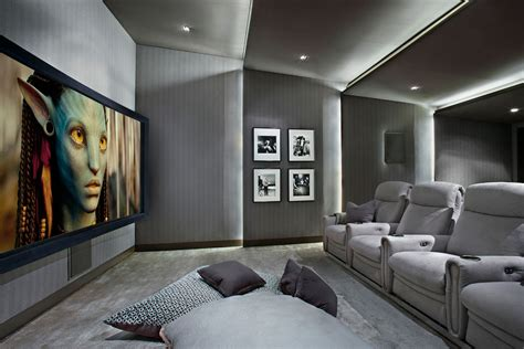 home cinema interior design exquisite contemporary interior design living room for the entertainer pinterest