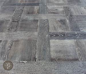 French parquet chantilly smoked and lyed 03 french oak for Parquet chantilly
