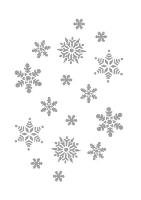 Cetakan Salju Frozen Stencil schneeflocken wasserzeichen vektor clipart kostenlose