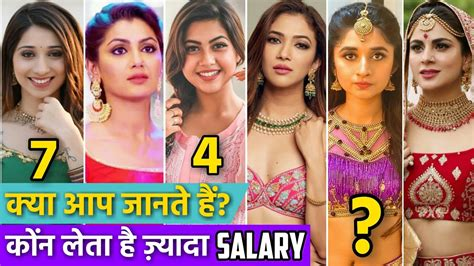 Top 10 Highest Paid Actresses Zee Tv 2020 Shraddha