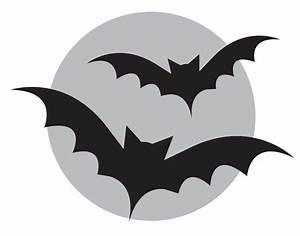 Bats Stencil For Halloween