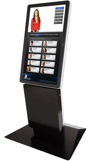 virtual concierge kiosks receptionists olea kiosks