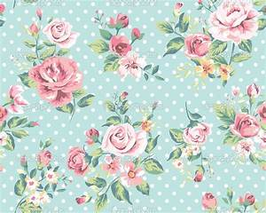 Vintage Wallpaper Flower   WallMaya.com