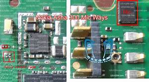 All Cellular Mobile Repair Solution  Nokia Asha 300 Mic