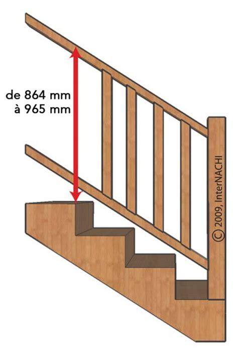 hauteur courante escalier interieur inspection d une terrasse article illustr 233 internachi