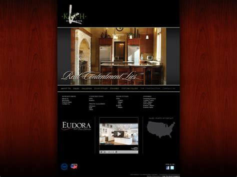 kitchen website design web design and development cedar media marketing 3475
