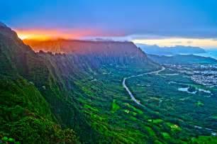 Mountains Of Hawaii Paradise Scenery Island hd wallpaper #1613396