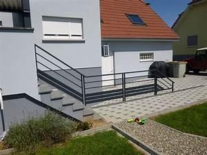 Garde Corps Exterieur Bois : barriere de balcon en alu ~ Dailycaller-alerts.com Idées de Décoration