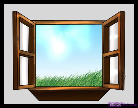 How To Draw A Window, Step By Step, Stuff, Pop Culture