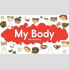 Body Parts For Kids  English Vocabulary  Kids Learning Videos Youtube