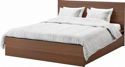 Bed Transparent King Wooden Modern Clipart Mattress