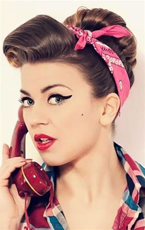 Retro Womens Hairstyles by Chic Retro Hairstyles Hairstyles Tips