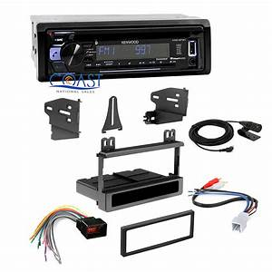 Kenwood Car Stereo Bluetooth Dash Kit Harness For 1998