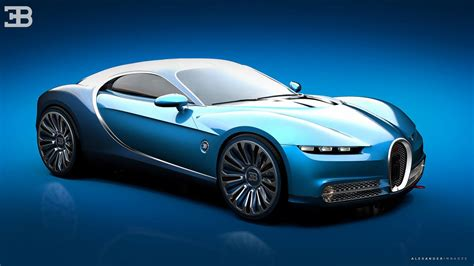But really, who spends nearly $90k on something that looks like a slightly shrunken veyron? Could Bugatti's Veyron successor look like this?   Top Gear