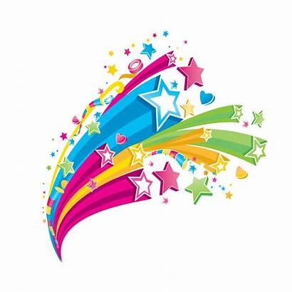 Clipart Star Designs Clip Transparent Stars Colorful