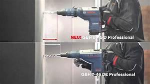 Bosch Profi 45 : bosch bohrhammer gbh 8 45 d professional youtube ~ Watch28wear.com Haus und Dekorationen