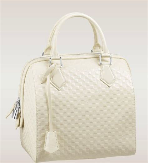 louis vuitton damier pattern speedy cube bag mm  cream louis vuitton louis vuitton shop