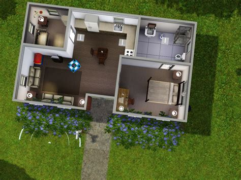 starter homes sims sim realty home plans blueprints