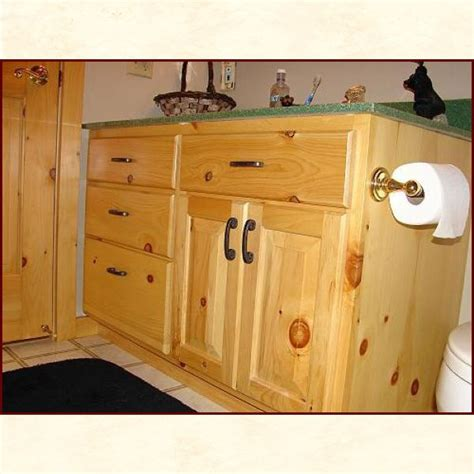 knotty pine bathroom vanity cabinets knotty pine bathroom vanity bathroom designs