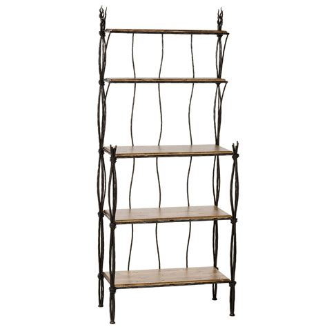 wrought iron bakers rack bakers rack 4 and 5 tier county ironworks