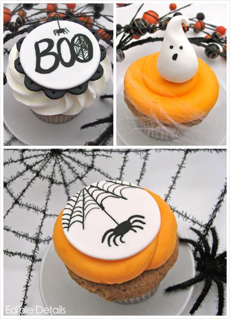 Spooktacular Halloween Cupcake Toppers