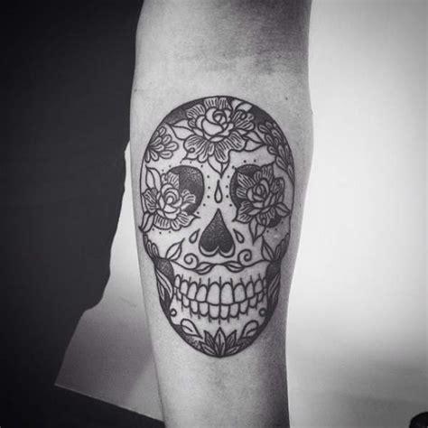 tatouage tete de mort tatouage avant bras tete de mort mexicaine id 233 es de