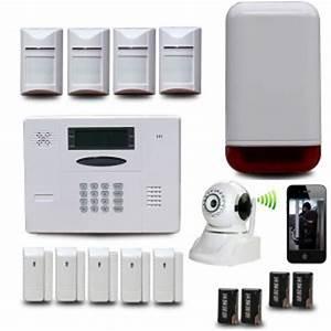 lalarme maison sans fil comparatif et conseils alarme With systeme alarme filaire maison