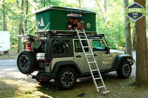jeep roof top tent used hard shell jeep roof top tent black