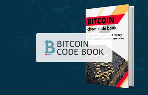 This is nothing, and if you don't get that, you are going to be miserable owning bitcoin. Bitcoin Code Book - Trusted Cryptocurrency Investing Advice?