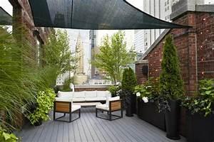 jardin et terrasse en ville 75 idees pour jardin sur le toit With amenagement d un petit jardin de ville 14 amenager un coin bureau dans son salon
