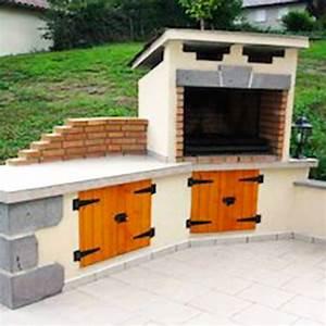 amenagement barbecue exterieur partie de votre amnagement With construire son barbecue exterieur