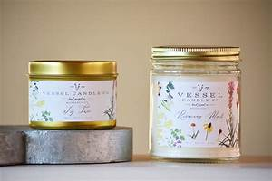 vessel candle co august osceola With how to make labels for candles