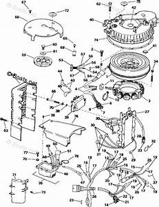 Evinrude Outboard Parts By Year 1991 Oem Parts Diagram For Ignition System