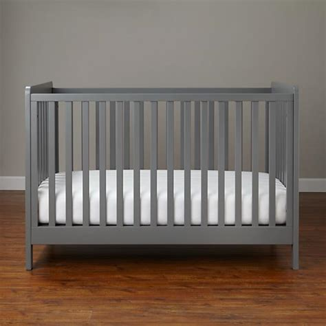 mattress stain modern wooden carousel baby crib grey the land of nod