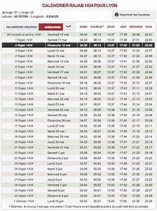 Horaire Priere Orly : pour ma famille horaire priere lyon 2012 ramadan ~ Medecine-chirurgie-esthetiques.com Avis de Voitures