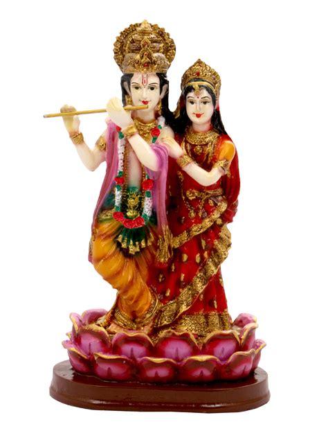 radha krishna idol statue showpiece gift