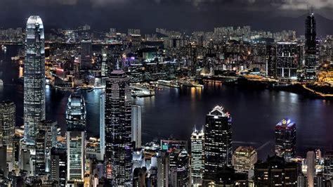hong kong night wallpaper city world wallpapers