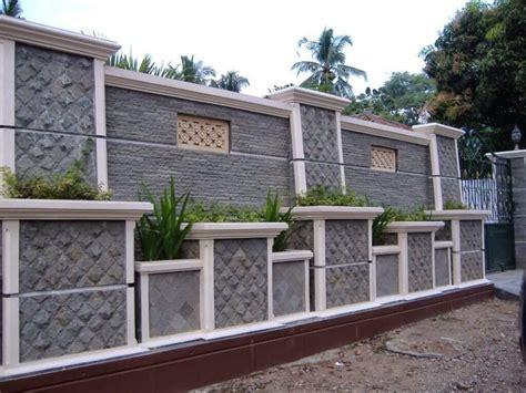 desain pagar rumah minimalis   jadi tren