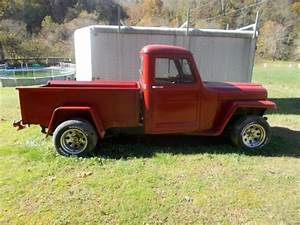 Hot Rod 1955 Willys Pickup Truck Project For Sale  Photos